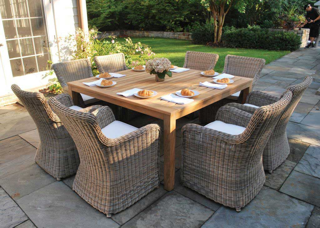 Kingsley-Bate-Sag-Harbor-For-Outdoor-Dining-Furniture-With-Large-Square-Table